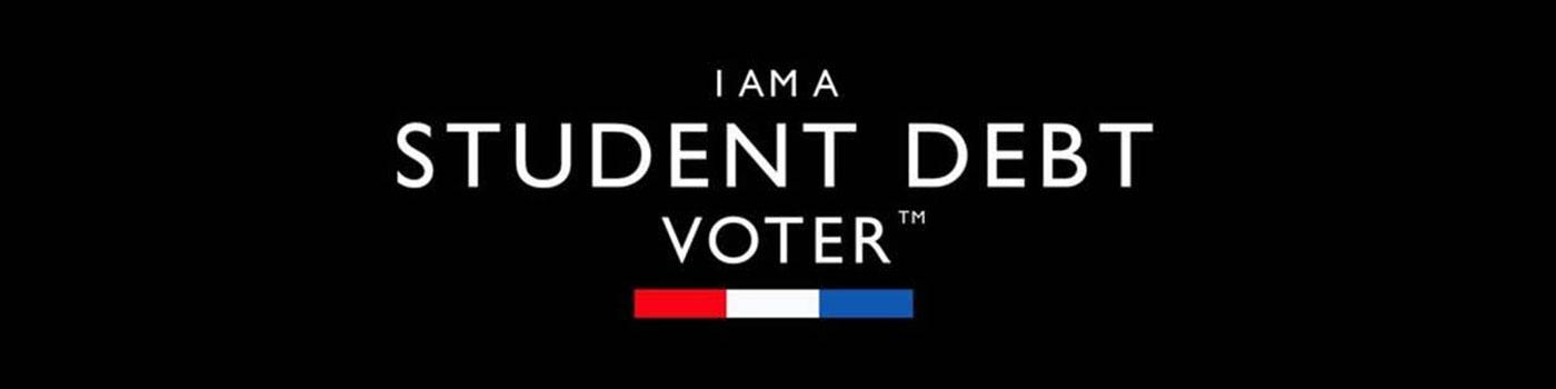 I Am a Student Debt Voter!  #CancelStudentDebt
